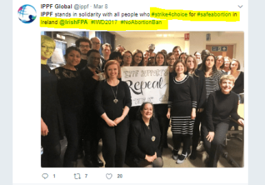 IPPF stands with repeal